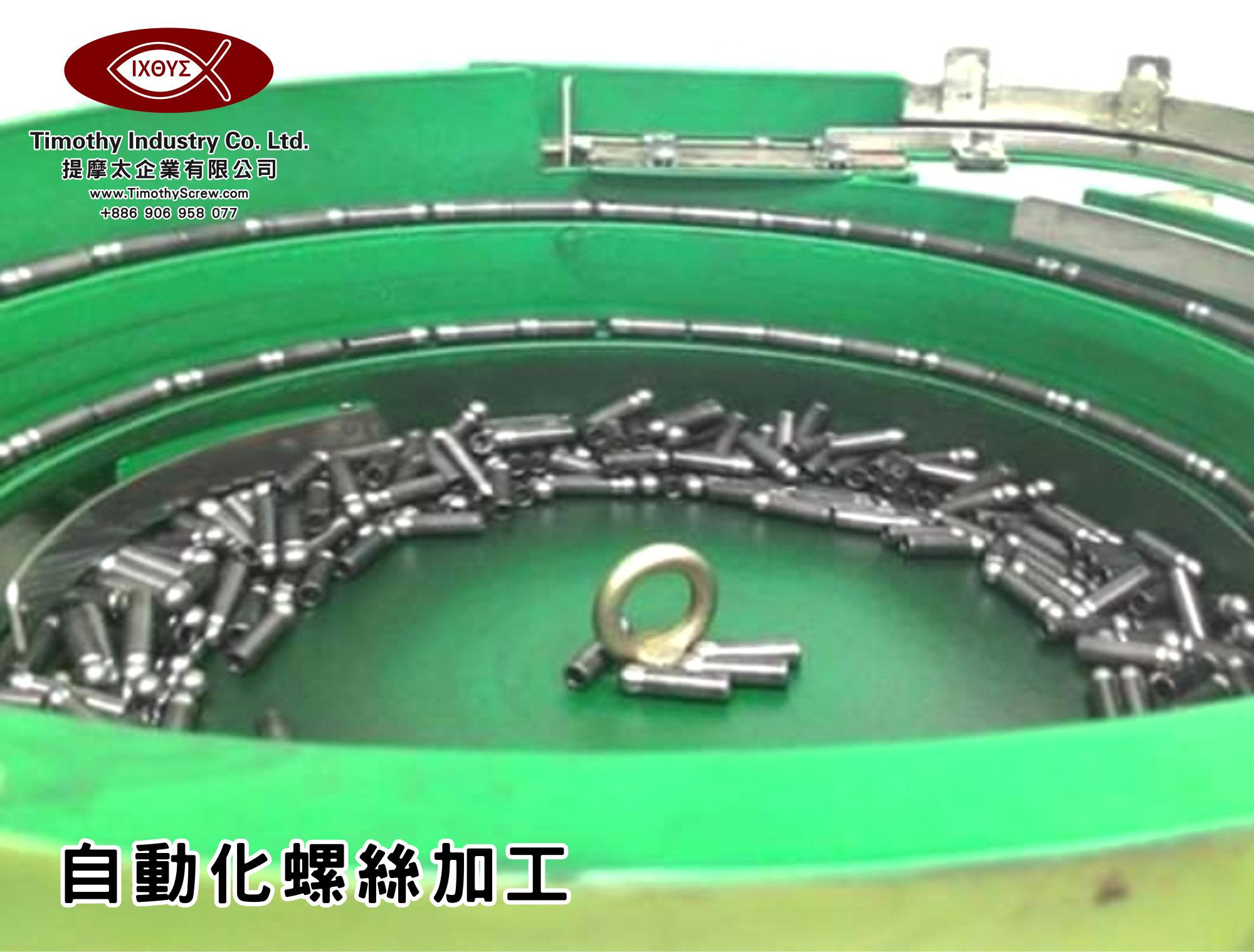 提摩太企業有限公司 Timothy Industry Co Ltd 自動化螺絲加工 車床部 銑床部 台灣自動化螺絲加工 螺絲製造 A02