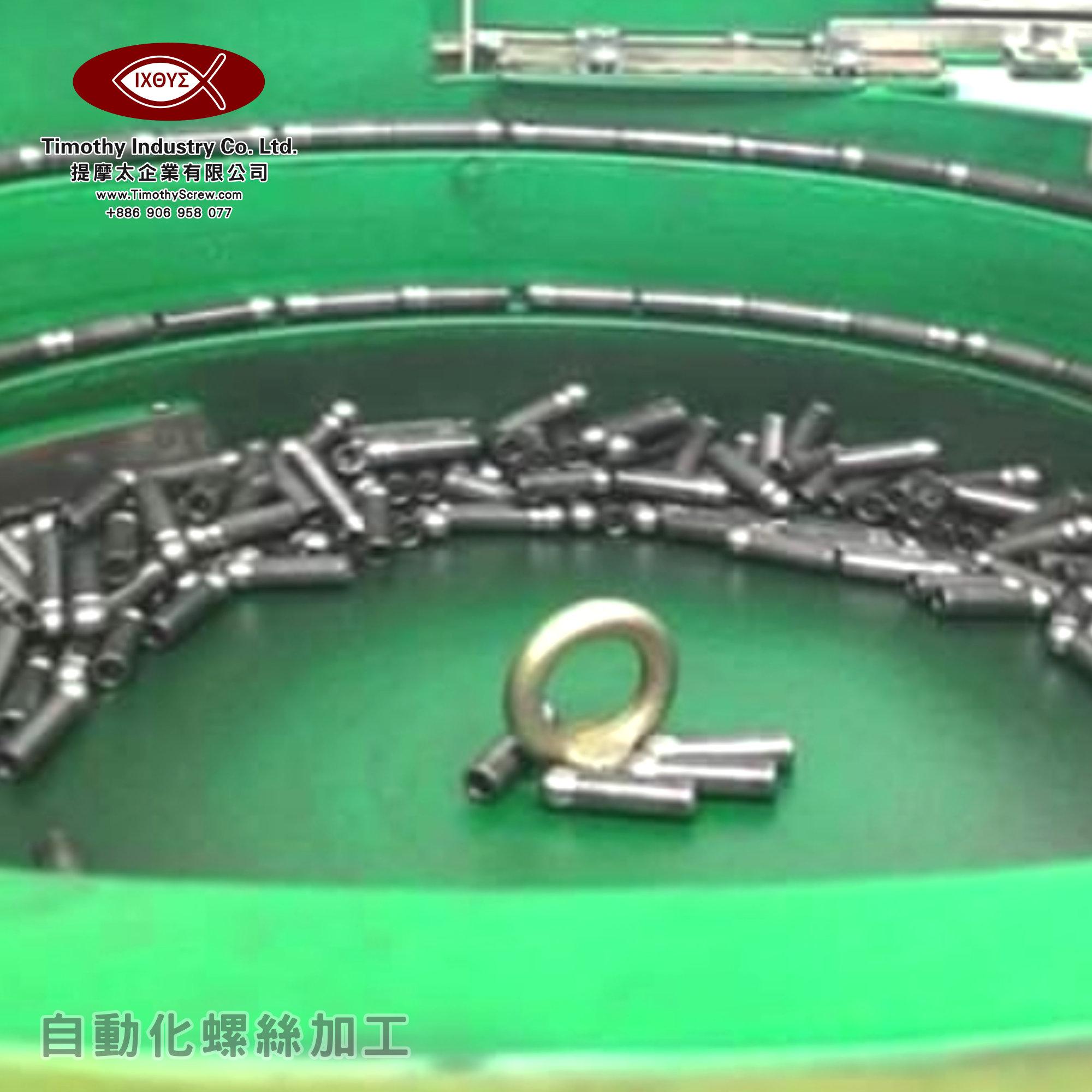 提摩太企業有限公司 Timothy Industry Co Ltd 自動化螺絲加工 車床部 銑床部 台灣自動化螺絲加工 螺絲製造 C01